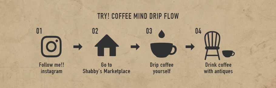 TRY! COFFEE MIND DRIP FLOW